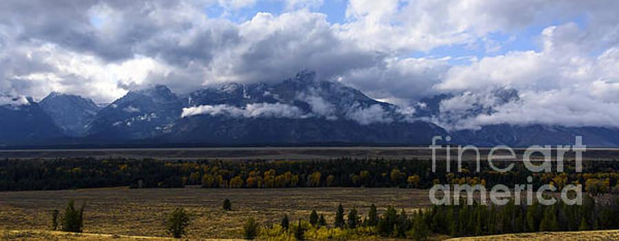 Teton Range # 1 by Sandy Molinaro