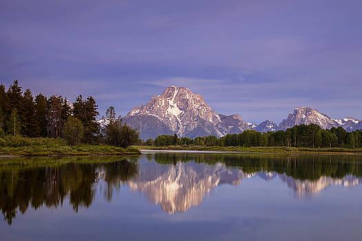 Teton Reflections by Andrew Soundarajan