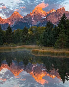 Teton Reflections by Joseph Rossbach