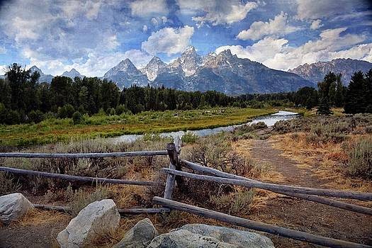 Tetons Grande 3 by Marty Koch