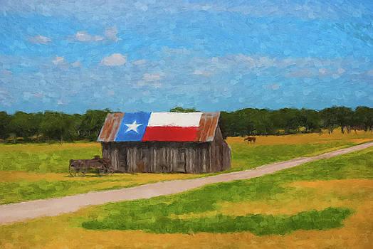 Texas Barn by Gary Grayson