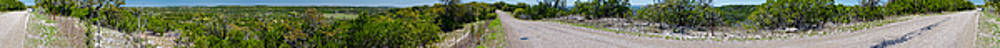 Texas Hill Country Panorama 360 by Greg Reed