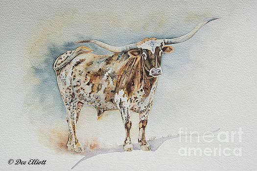 Texas Long Horn by Dee Elliott
