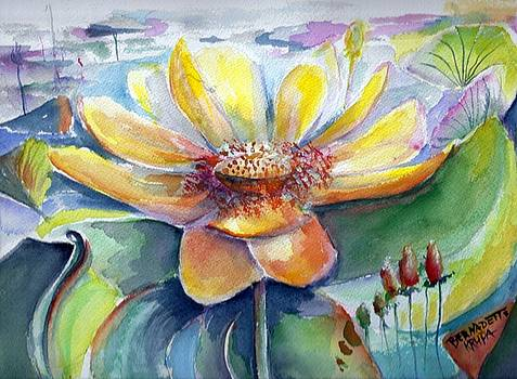 Texas Water Lilly by Bernadette Krupa