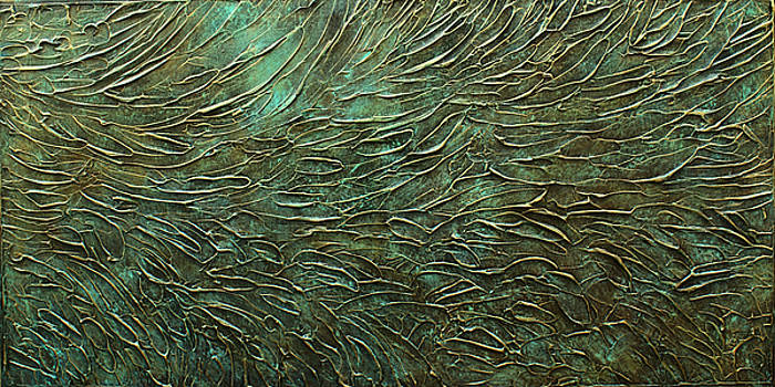 Textured Bronze by Michael Lang
