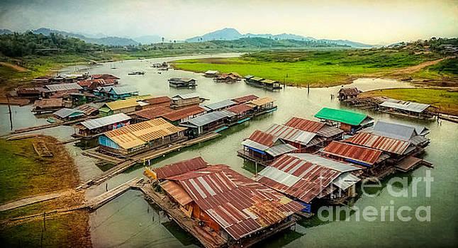 Adrian Evans - Thai Floating Village