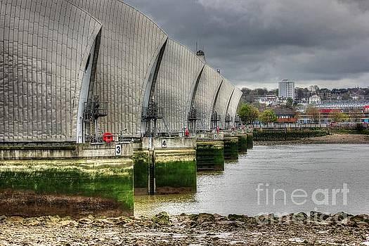 Thames Barrier HDR by Vicki Spindler