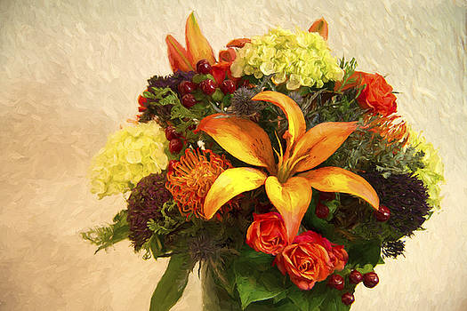 Thanksgiving Bouquet  by Daphne Sampson