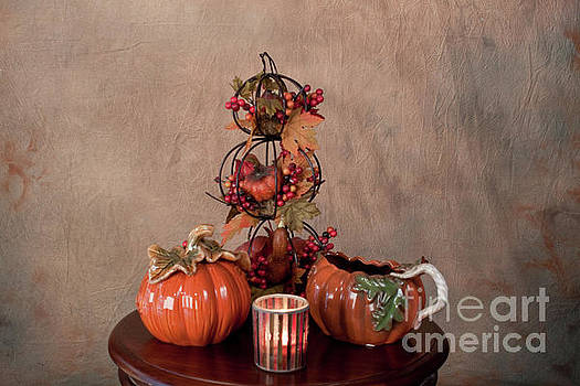 Thanksgiving Pumpkins by Sherry Hallemeier