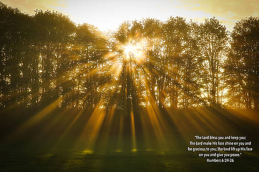 The  Aaronic Blessing by Lynn Hopwood