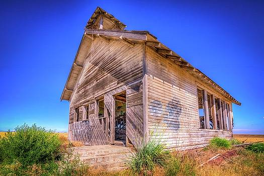 The Abandoned School House by Spencer McDonald
