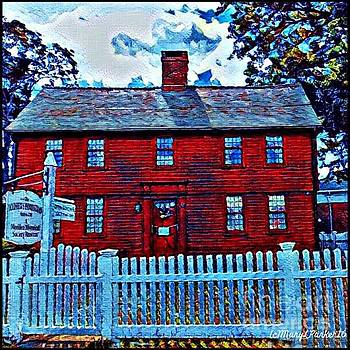 The Andrew Homestead Meriden,Ct by MaryLee Parker
