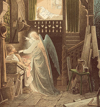 Victor Paul Mohn - The angel appearing to Joseph