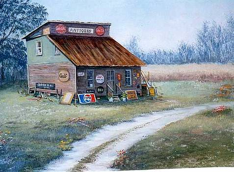 The Antique Store by Sue Coley