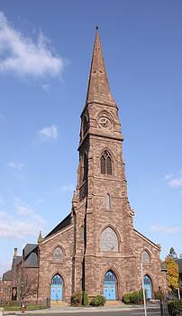 The Asylum Hill Congregational Church by Gerald Mitchell