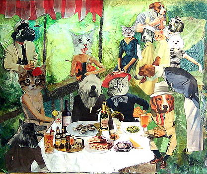 The Barking Party by Susie DeZarn