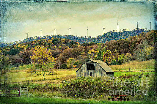 Kathleen K Parker - The Barn and the Turbines - WV