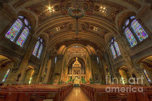 The Basilica of Saint Mary Minneapolis Interior by Wayne Moran