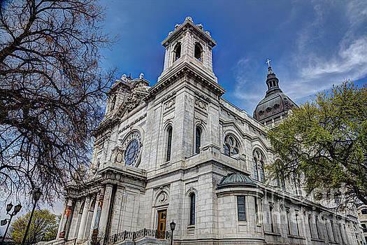 The Basilica of Saint Mary Minneapolis Springtime by Wayne Moran
