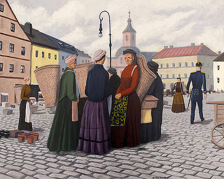 The Basket Women by Dave Rheaume