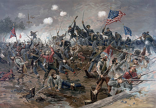 The Battle of Spotsylvania Court House - Civil War by War Is Hell Store