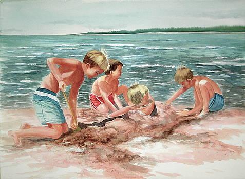 The Beach Boys by Becky Taylor
