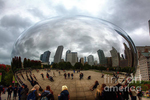 The Bean Millennium Park Chicago by Wayne Moran