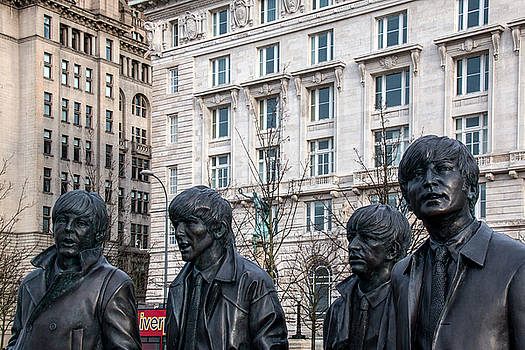 The Beatles are in town by Susan Tinsley
