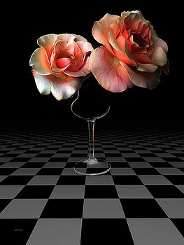 The beauty of roses by Gabriella Weninger - David