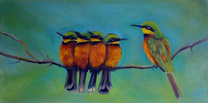The Bee Eater Family by Janet Silkoff