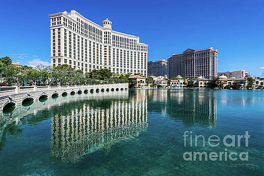 The Bellagio Perfect Reflection by Eric Evans