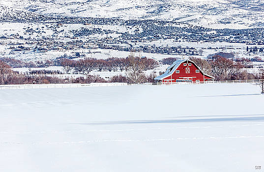 The Big Red Barn by David Millenheft
