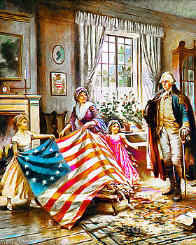 Wingsdomain Art and Photography - The Birth Of Old Glory Redux 20150710v2