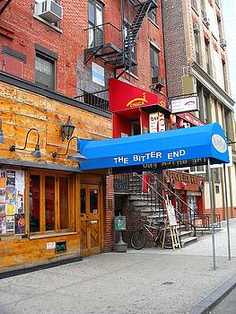 The Bitter End New York-Greenwich Village by Candace Garcia
