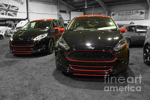 The Black and Red Fiesta by Vicki Spindler
