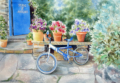 The Blue Bicycle by Deborah Ronglien