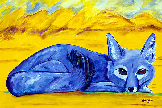 The Blue Fox by Andrea Folts