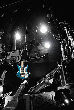 The Blue Guitar by Antonio Gruttadauria
