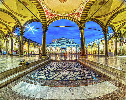 The Blue Mosque - Istanbul - Turkey by Luciano Mortula