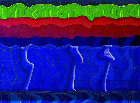 The Blue Underground by Paul Wear