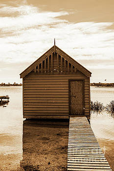 The Boat Shed 2 by Naomi Burgess