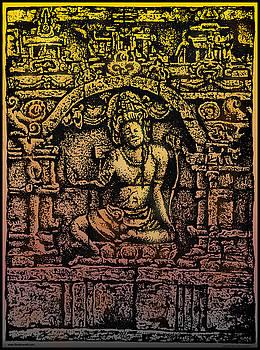 Larry Butterworth - The Bodhisattva Samantabhadra Borobudur Java