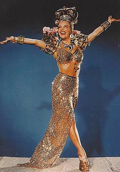 The Brazilian Bombshell Carmen Miranda by Jay Milo