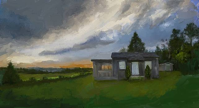 The Cabin On The Hill by Eduardo Tavares