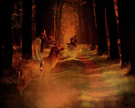 The Call Of The Wizard by Terry Fleckney