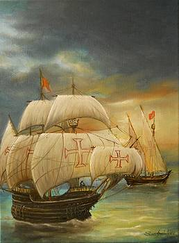 The Caravel by Sorin Apostolescu