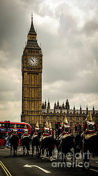 The Cavalry and Big Ben by Marina McLain