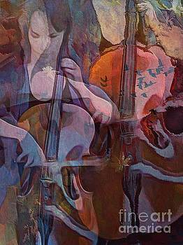 The Cellist by Alexis Rotella