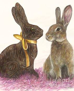 The chocolate imposter by Meagan  Visser