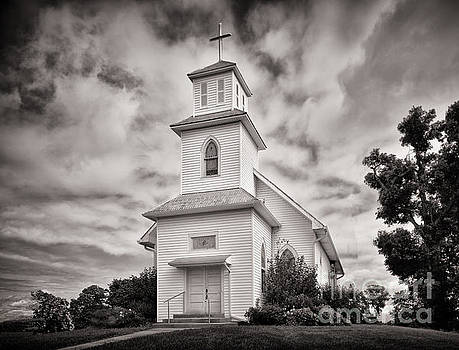 The Church On The Hill by Brian Mollenkopf
